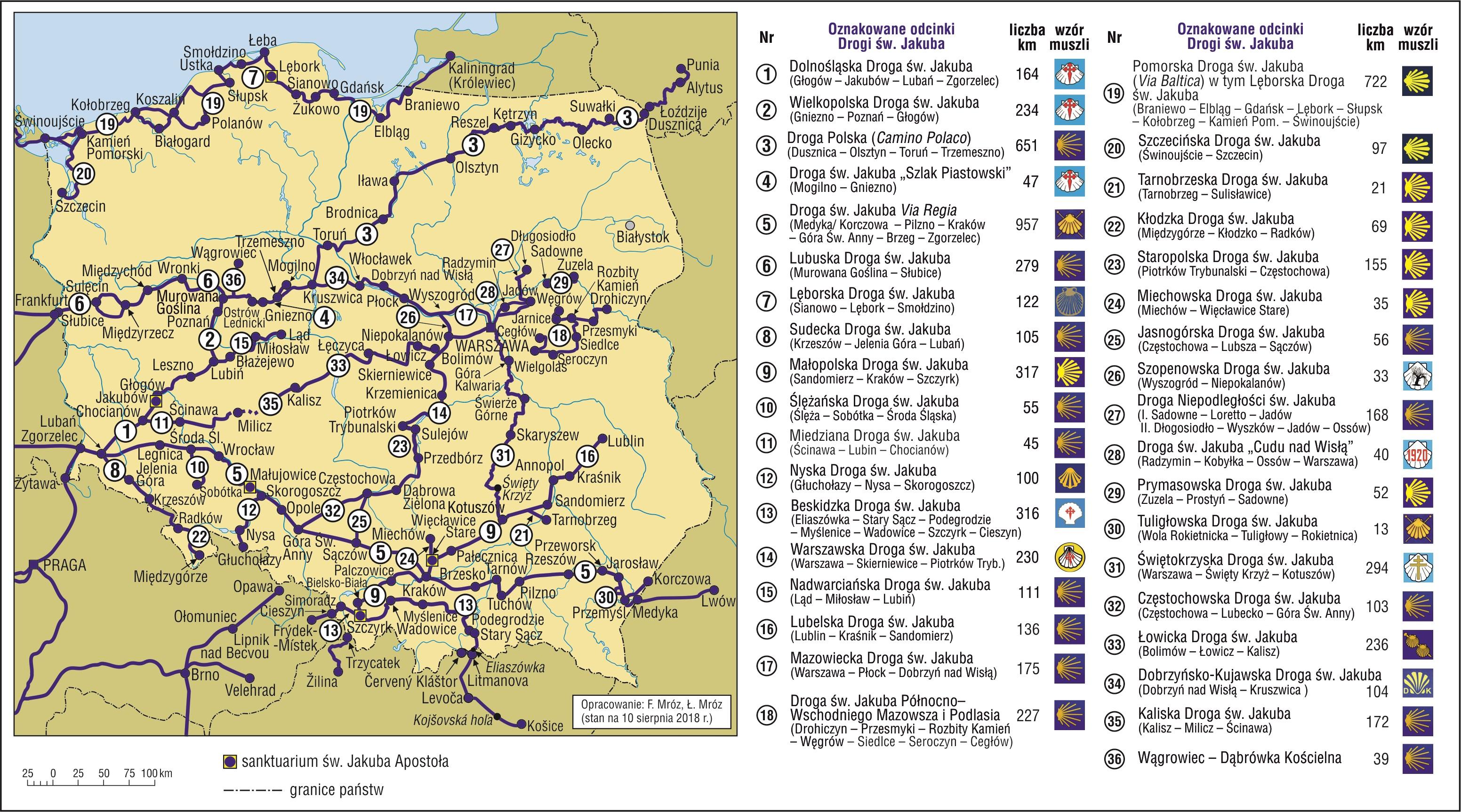 Camino-de-Santiago-szlaki-w-Polsce
