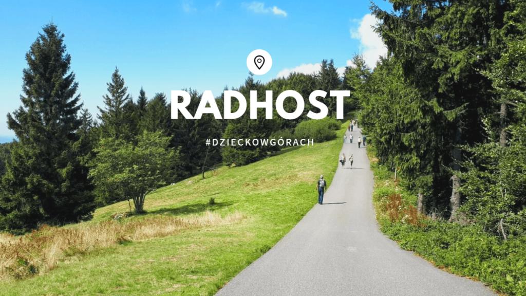 Radhost szlak przez Radegast