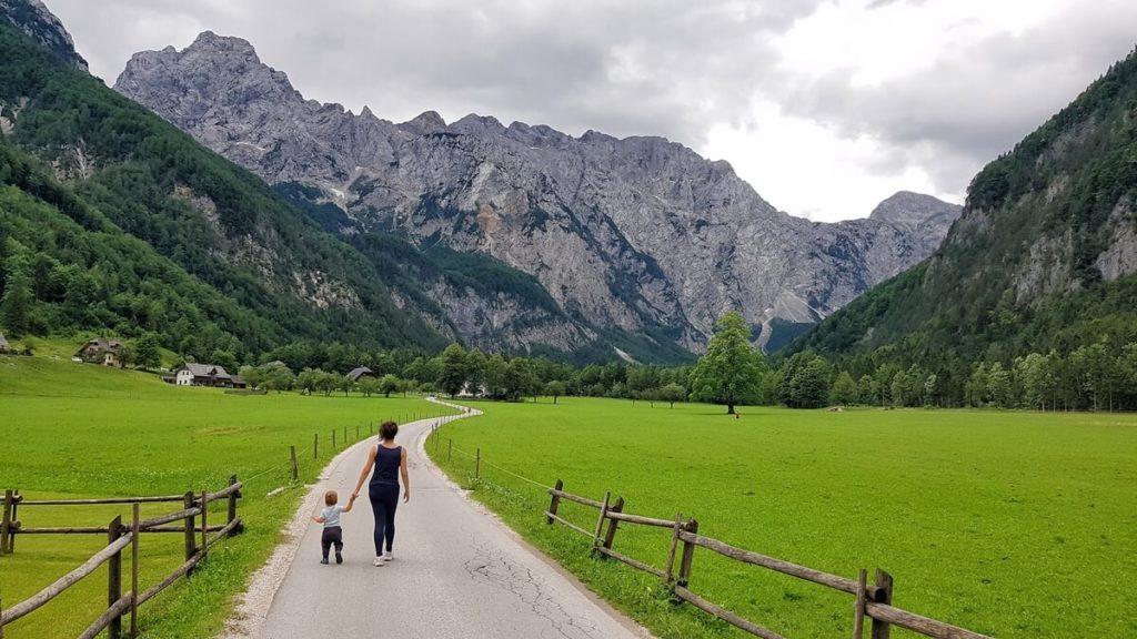 Dolina Logarska - słynny widok