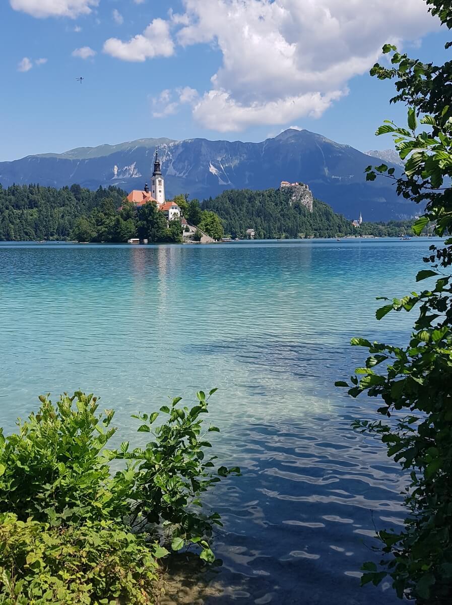 jezioro bled - wiodk na wyspę