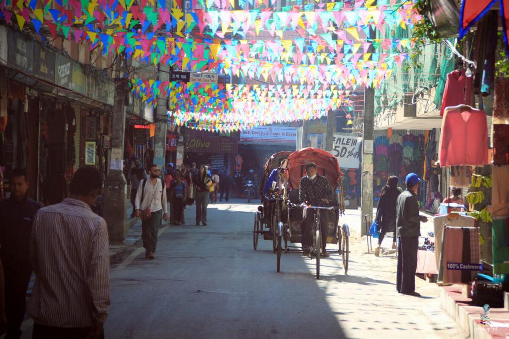 thamel w katmandu