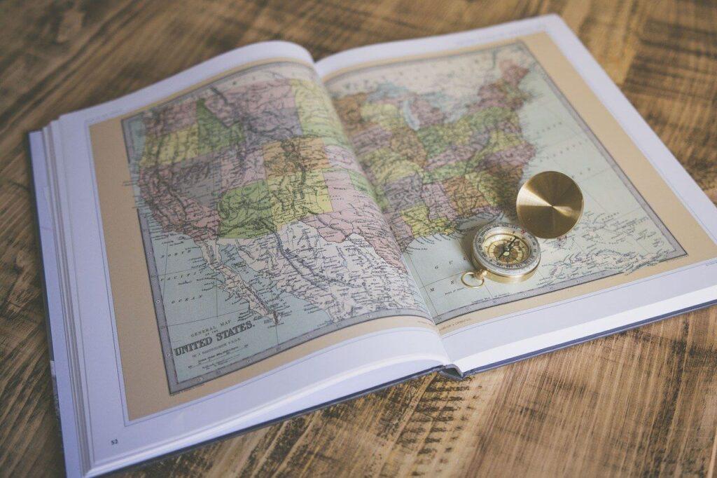 Atlas świata na prezent