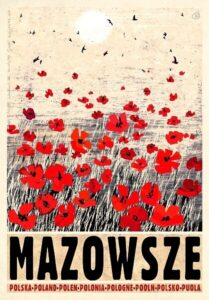 mazowsze plakat